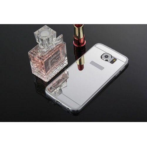 Slim mirror case srebrny   etui dla samsung galaxy s6 - srebrny