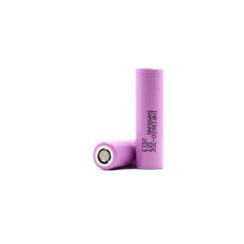 Akumulator inr18650-35e cylindryczny 3500mah 13.0wh li-ion 3.7v 18.5x65.3mm 8a inr1865035e marki Samsung