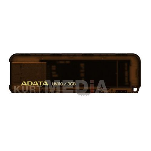 ADATA Flash Disk 8GB USB 2.0 DashDrive UV110, brązowy, kup u jednego z partnerów