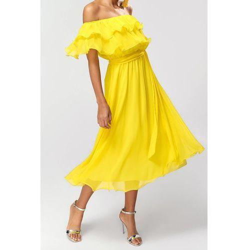 Sukienka DENICA, kolor żółty
