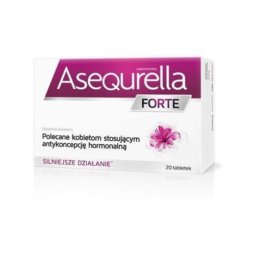 Tabletki Asequrella Forte, 20 tabletek - Długi termin ważności! DARMOWA DOSTAWA od 39,99zł do 2kg!
