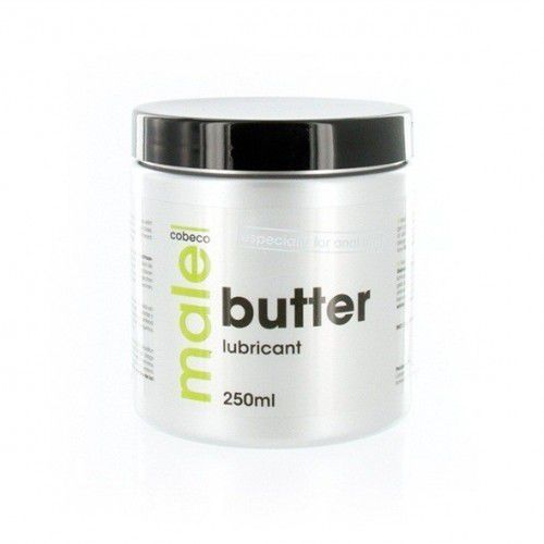 Cobeco Male Butter Lubricant Preparat na bazie masła do nawilżania 250ml (8717344178686)