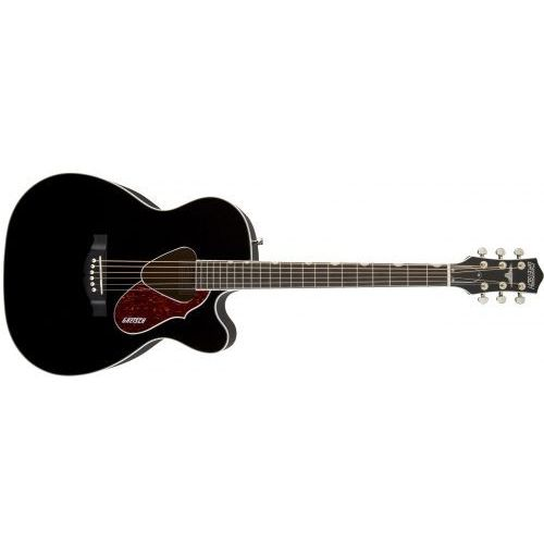 Gretsch g5013ce rancher jr. cutaway acoustic electric, fishman pickup system, black gitara akustyczna