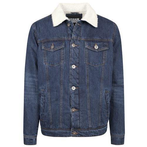 Urban Classics Kurtka jeansowa dark blue, kolor niebieski