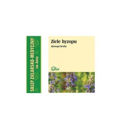 Flos Hyzop ziele hyzopu 50g - ziele, przyprawa
