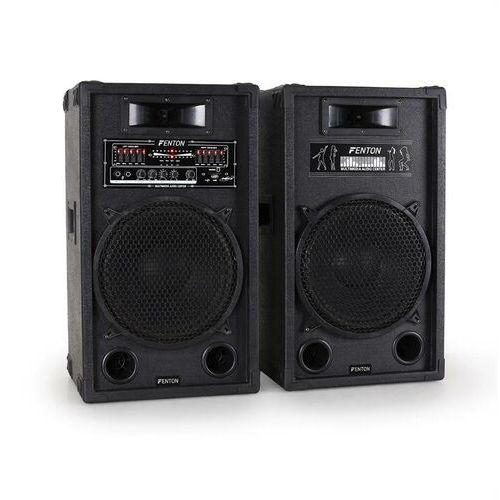 Skytec aktywny zestaw głośników PA 30cm 1200W USB-SD-MP3 (8715693248791)