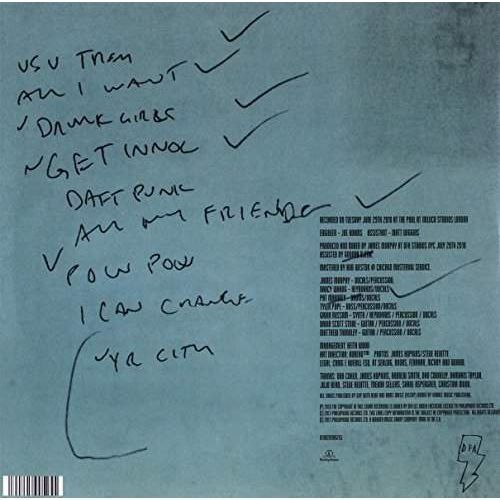 Warner music London sessions - lcd soundsystem (płyta winylowa) (0190295905255)