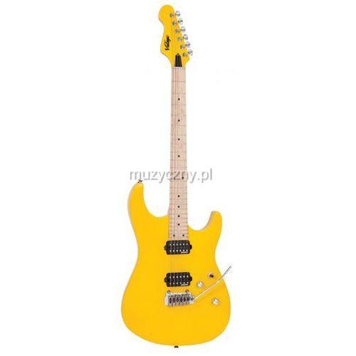 v6m24dy gitara elektryczna, daytona yellow marki Vintage