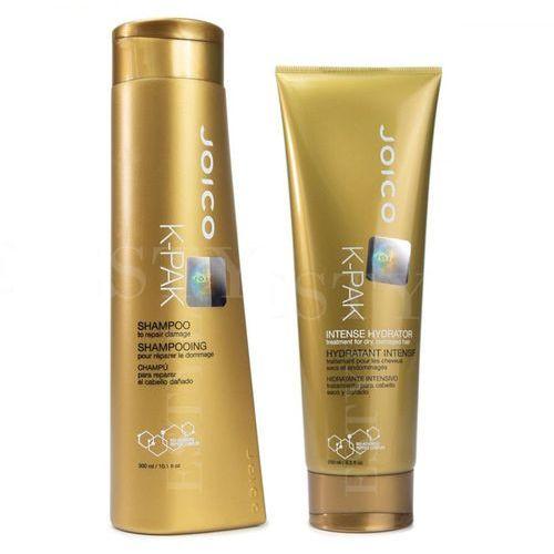 Joico k-pak | zestaw regenerujący: szampon 300ml + terapia nawilżająca 250ml