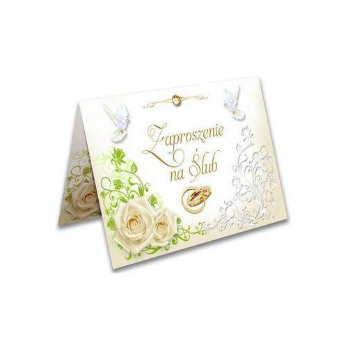 Zaproszenia ślubne z kopertą - 1 szt. marki Ag firma