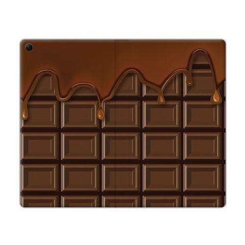 Flex Book Fantastic - Lenovo Tab 3 7.0 (A7-30) - etui na tablet Flex Book Fantastic - tabliczka czekolady, kolor brązowy