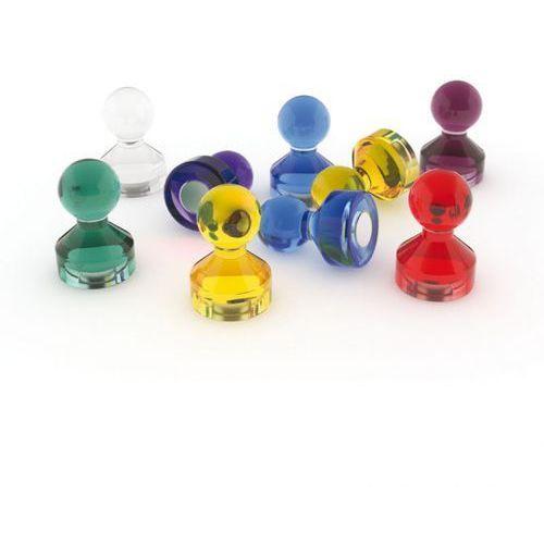 Komplet magnesów do tablic szklanych, 50 Szt.