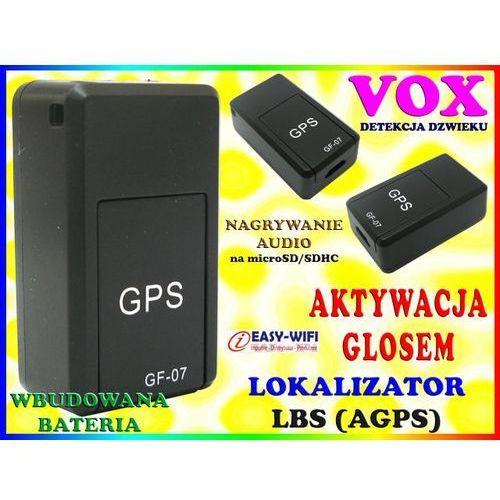 MINI PODSŁUCH GSM GF-07 DYKTAFON AKTYWACJA DŹWIĘKIEM VOX, Sklep Easy-WiFi