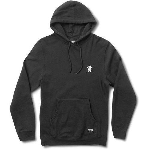 bluza GRIZZLY - Og Bear Embroidered Hoody Black /White (BKWH) rozmiar: XXL, 1 rozmiar