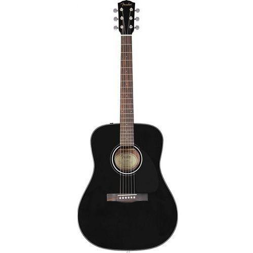 cd-60s dreadnought black wn gitara akustyczna marki Fender
