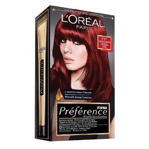 L'OREAL Feria Preference farba do wlosow P37 Intensywna Ciemna Czerwien (koloryzacja włosów)