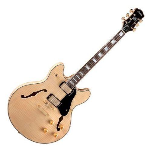 athena semi hollow natural gitara elektryczna - wyprzedaż marki Luna