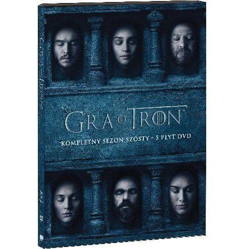 Gra o tron: Sezon 6 (DVD) - Daniel Sackheim, Jack Bender, Miguel Sapochnik, Jeremy Podeswa i inni (7321909342705)