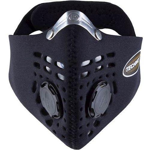Maska antysmogowa techno black • xl marki Respro