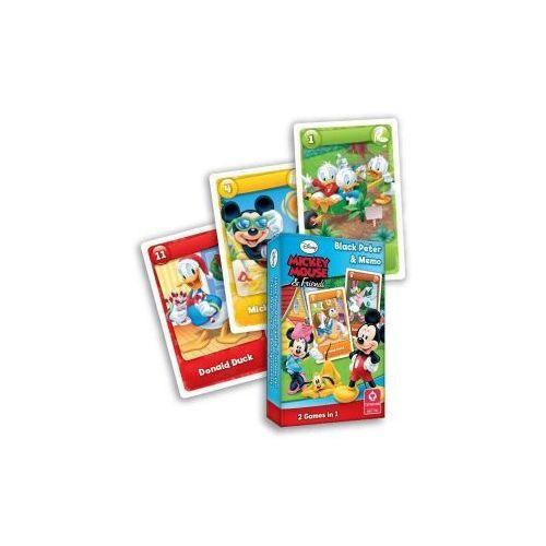 Myszka Miki i Przyjaciele (Czarny Piotruś i Memo). Karty do Gry