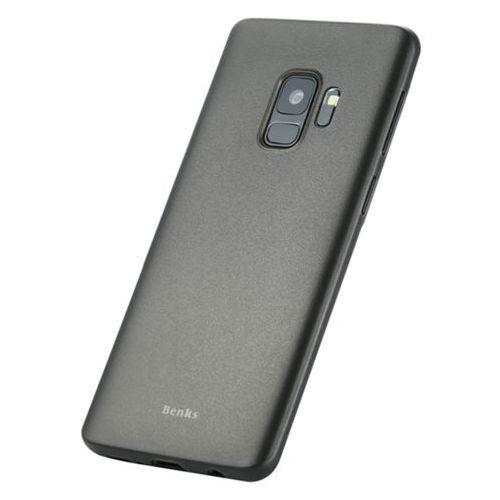 Etui Benks Magic Lollipop Samsung Galaxy S9 - Trans Black - Black (6948005944056)