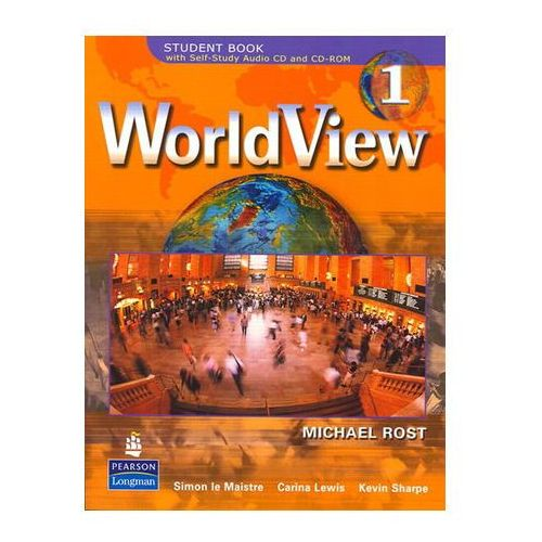 WorldView 1 with Self-Study Audio CD and CD-ROM Workbook Drosten Michaela (9780131839946)