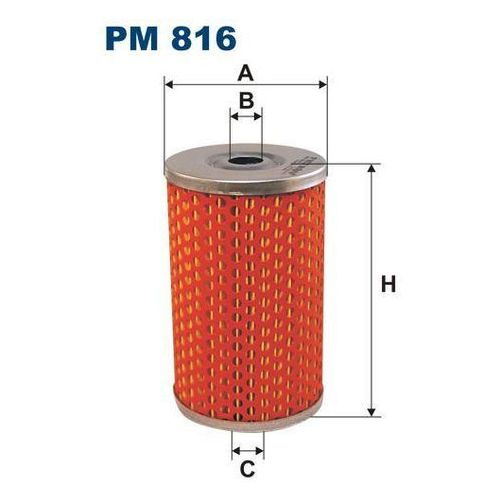 Filtron 816 pm filtr paliwa citroen,ldv,renault (5904608008169)