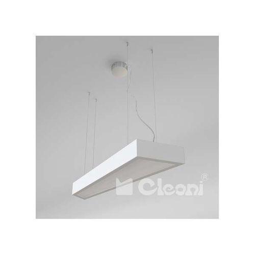 LAMPA wisząca RITA 1268WAD2+kolor/4000K Cleoni geometryczna OPRAWA LED 81W zwis