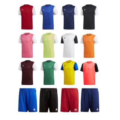 Adidas Strój estro 19 junior - nadruki! różne kolory!