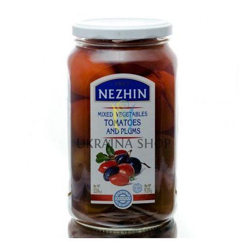 Pomidory marynowane ze śliwkami, 920 g marki Nezhin
