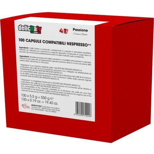 Passione kapsułki do nespresso – 100 kapsułek marki Nespresso kapsułki
