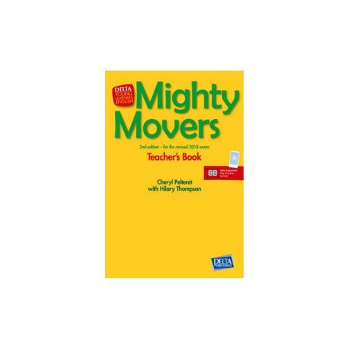 Mighty Movers Second Editon - Teacher's Book and CD-ROM + Delta Augmented (90 str.)