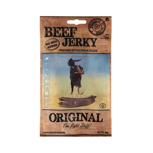 BULLSEYE MEATS 50g Beef Jerky Original Peklowana suszona wołowina