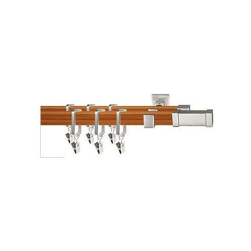 Karnisze apartamentowe ROYAL / Karnisz ROYAL Carrara podwójny chrom mat-calvados - oferta [d5baeb0ab1223218]