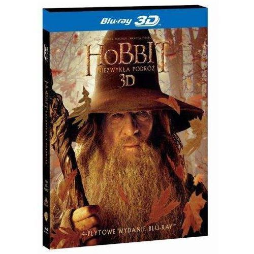 Hobbit: niezwykła podróż 3d. edycja specjalna (4 blu-ray hd) (płyta bluray) marki Galapagos