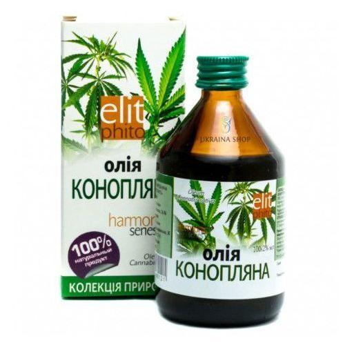Olej konopny naturalny, 250 ml marki Elit phito