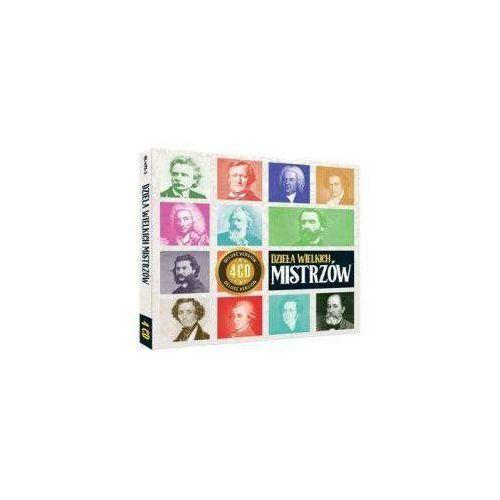 Soliton Różni wykonawcy - dzieła wielkich mistrzów 4cd (5901571094731)
