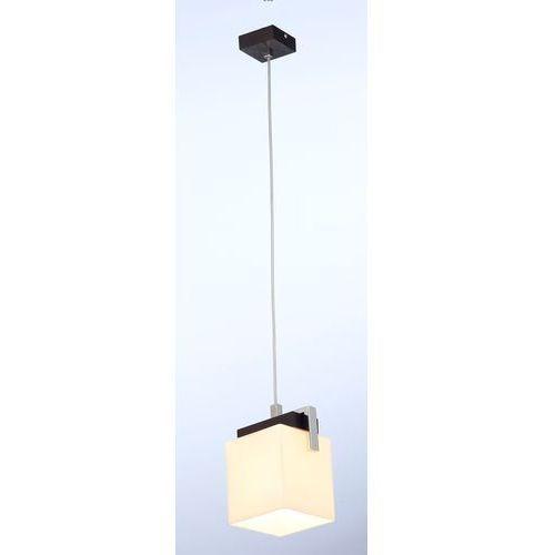 Argon Lampa wisząca tros 574 zwis oprawa 2x60w e27 ecru/ciemny brąz (5908259939193)