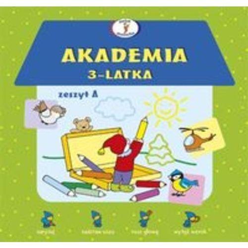 Akademia 3-latka Zeszyt A (2012)