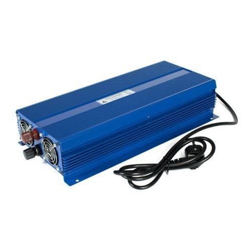 Azo digital Zasilacz awaryjny ups-2000se 12vdc / 230vac 2000w - ładowanie 6a - sinus eco mode (5905279203099)