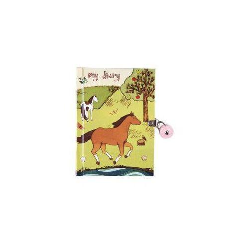 Pamiętnik zamykany na kłódkę Konie - produkt dostępny w Adaboo