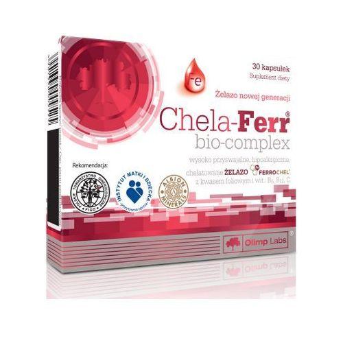 Kapsułki Olimp Chela Ferr Bio Complex (Żelazo chelatowane) 14mg 30 kaps.