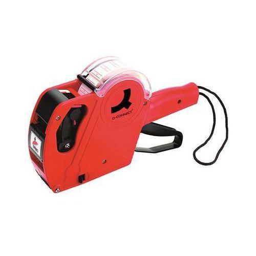 Metkownica , jednorzędowa, 8 znaków, czerwona marki Q-connect
