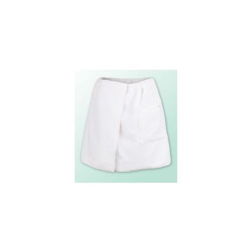 Sauna kilt ręcznik biały 100% bawełna męski 50*140 podwójna przędza marki Produkcja własna