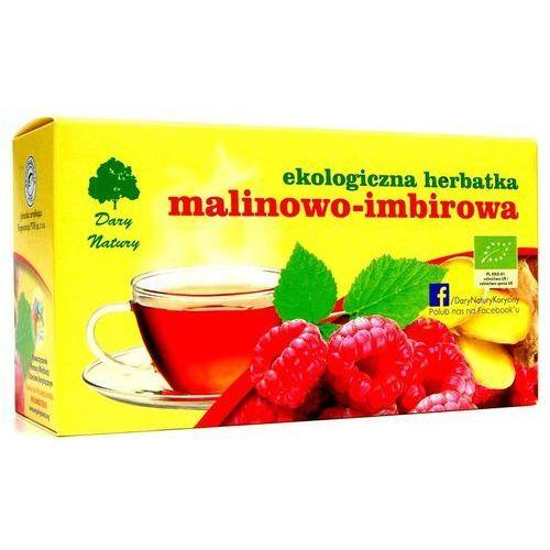 Dary natury Malinowo-imbirowa eko - herbata ekspresowa - (5902741007339)