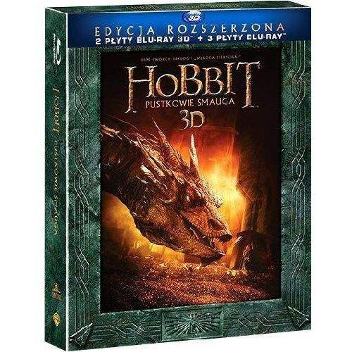 Hobbit: pustkowie smauga 3d. edycja specjalna (3bd) marki Galapagos