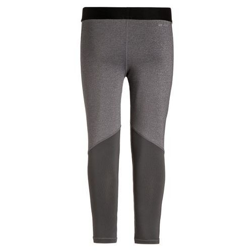 Nike Performance PRO DRY Legginsy dark grey heather/dark grey/black/white od Zalando.pl