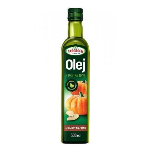 Olej z pestek dyni - tłoczony na zimno 500 ml marki Tar-groch-fil sp. filipowice 161, 32-840 zakliczyn, polska, dystrybuto