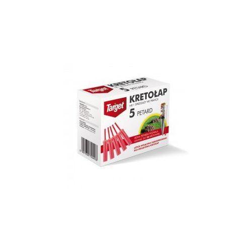 Wkłady, ładunki do urządzenia kret-boom, kretołap 5szt marki Target