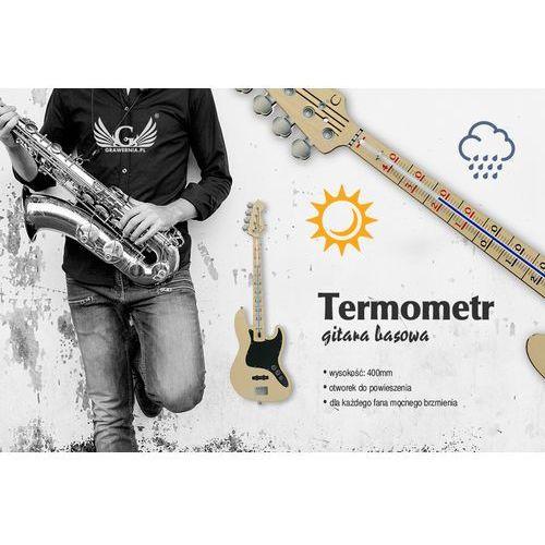 Termometr basisty - gitara basowa - kolorowy druk UV - TER001